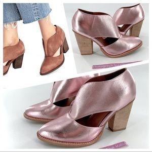 Jeffrey Campbell Free People Pink Metallic Shoes 9